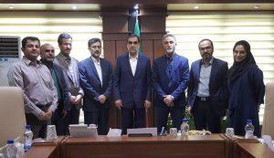 دیدار اعضای هیأت مدیرهی انجمن علمی رواندرمانی ایران با وزیر بهداشت